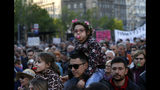 Anti-govt protests resume against Serbia