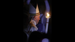 Pope during Easter vigil: reject the