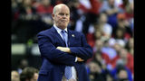 Orlando Magic head coach Steve Clifford watches as his team plays Toronto Raptors during the second half in Game 5 of a first-round NBA basketball playoff series, Tuesday, April 23, 2019 in Toronto. (Frank Gunn/Canadian Press via AP)