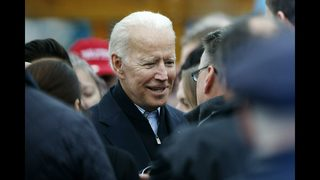 The Latest: Former Black Caucus chairman supports Biden