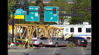 RAW VIDEO: Crane collapse in Seattle - fire department briefing (4-27-19)