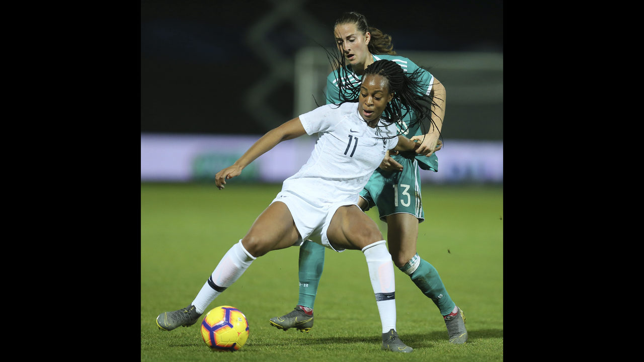 Diacre defends leaving Katoto out of France's WCup squad