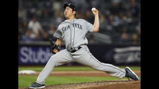 Kikuchi, Healy lead Mariners to 10-1 rout of Yankees