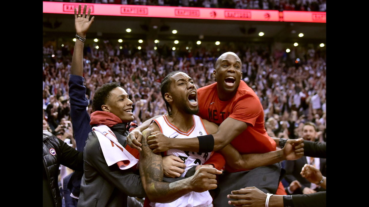 13f15902c71 Leonard hits bouncer at buzzer, Raptors beat 76ers in Game 7 | WJAX-TV