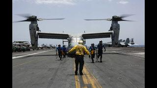 The Latest: Trump warns Iran of ruin if it starts fight