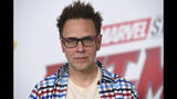 "FILE - In this June 25, 2018 file photo writer-director James Gunn attends the premiere of ""Ant-Man and the Wasp"" in Los Angeles. Gunn, who last July was fired from ""Guardians of the Galaxy Vol. 3"" over old tweets, and rehired this March says that he's a better person than he was a year ago. While promoting the horror film ""Brightburn,"" which he produced, Gunn tells The Associated Press that the experience has made him more creative and focused on the things that matter to him. (Photo by Jordan Strauss/Invision/AP, File)"