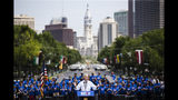 Democratic presidential candidate, former Vice President Joe Biden speaks during a campaign rally at Eakins Oval in Philadelphia, Saturday, May 18, 2019. (AP Photo/Matt Rourke)