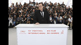 Director Quentin Tarantino poses for photographers at the photo call for the film 'Once Upon a Time in Hollywood' at the 72nd international film festival, Cannes, southern France, Wednesday, May 22, 2019. (Photo by Vianney Le Caer/Invision/AP)