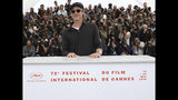 Actor Brad Pitt poses for photographers at the photo call for the film 'Once Upon a Time in Hollywood' at the 72nd international film festival, Cannes, southern France, Wednesday, May 22, 2019. (Photo by Vianney Le Caer/Invision/AP)