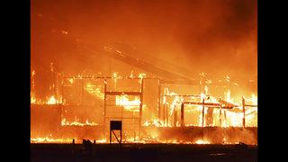 3 injured in fire that destroyed Nebraska fertilizer plant