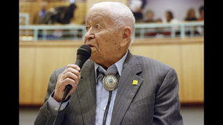 WWII Code Talker and longtime NM lawmaker dies at 94
