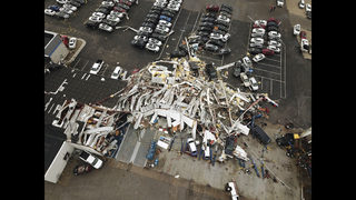 Power outages remain after tornado slams Missouri's capital