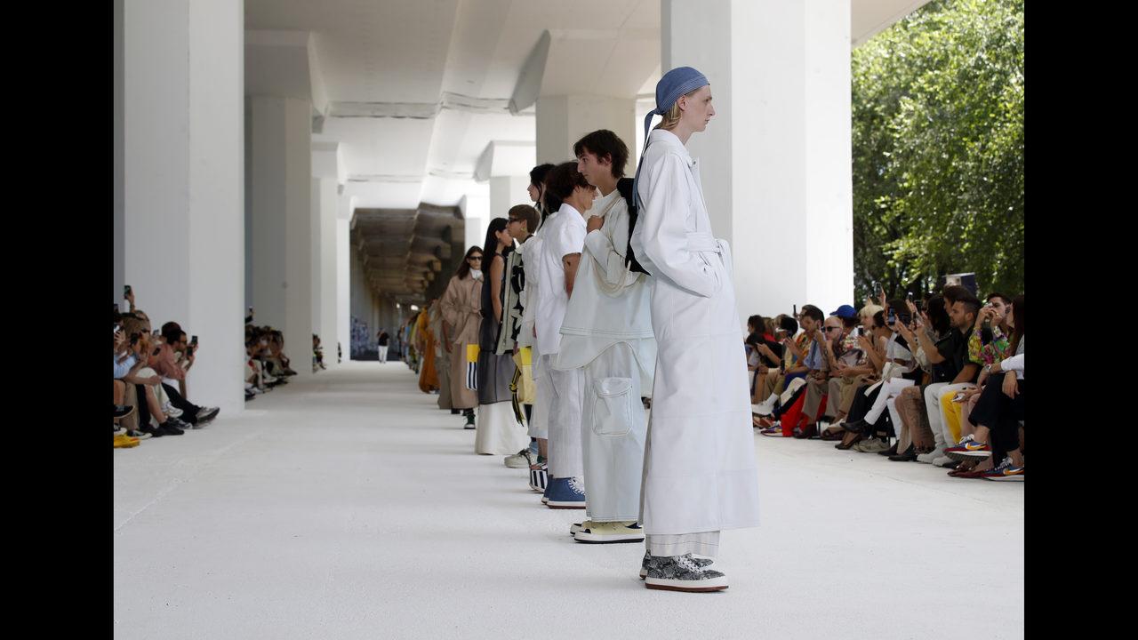 4e7de50c33 Sunnei to Palm Angels, streetwear in fashion focus in Milan   WFTV