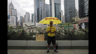 The Latest: Activists reject Hong Kong leader