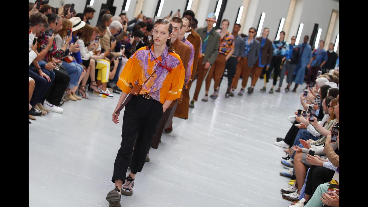 046cd9ea52aeb Valentino travels the world as Paris menswear gets romantic | WFTV
