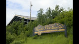 This June 14, 2019, photo shows a Wasilla sign on the outskirts of Wasilla, Alaska. Alaska Gov. Mike Dunleavy has called lawmakers into special session in Wasilla beginning July 8, but some lawmakers have expressed concerns over security and logistics with the location more than 500 miles from the state capital of Juneau, Alaska. (AP Photo/Mark Thiessen)