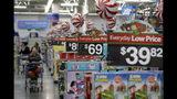 Fotografía de archivo del 26 de octubre de 2016 de precios en la sección de juguetes en Walmart en Teterboro, Nueva Jersey. (AP Foto/Julio Cortez, Archivo)