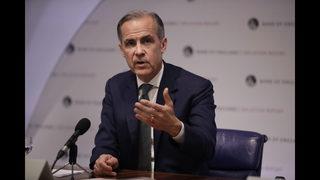 UK bank chief: trade war may