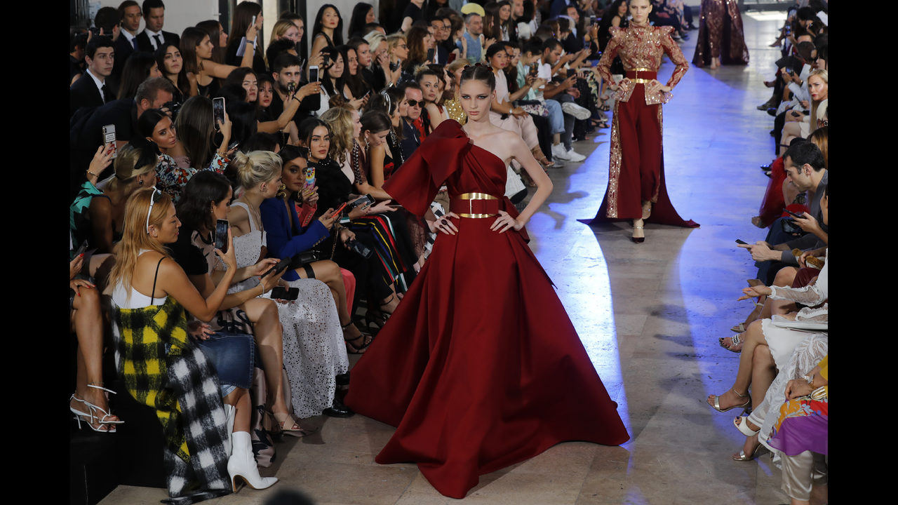 c19e646b7ab00 Gaultier goes fur-free as Saab channels Asian couture | FOX23