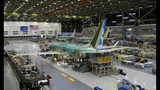 FILE - This Dec. 7, 2015, file photo shows the second Boeing 737 MAX airplane being built on the assembly line in Renton, Wash. A new computer problem has been found in the troubled Boeing 737 Max that will further delay the plane's return to flying after two deadly crashes, according to two people familiar with the matter. The latest flaw in the plane's computer system was discovered by Federal Aviation Administration pilots who were testing an update to critical software in a flight simulator in the fourth week of June 2019 at a Boeing facility near Seattle, the people said. Both spoke on condition of anonymity because the development has not been made public. (AP Photo/Ted S. Warren, File)