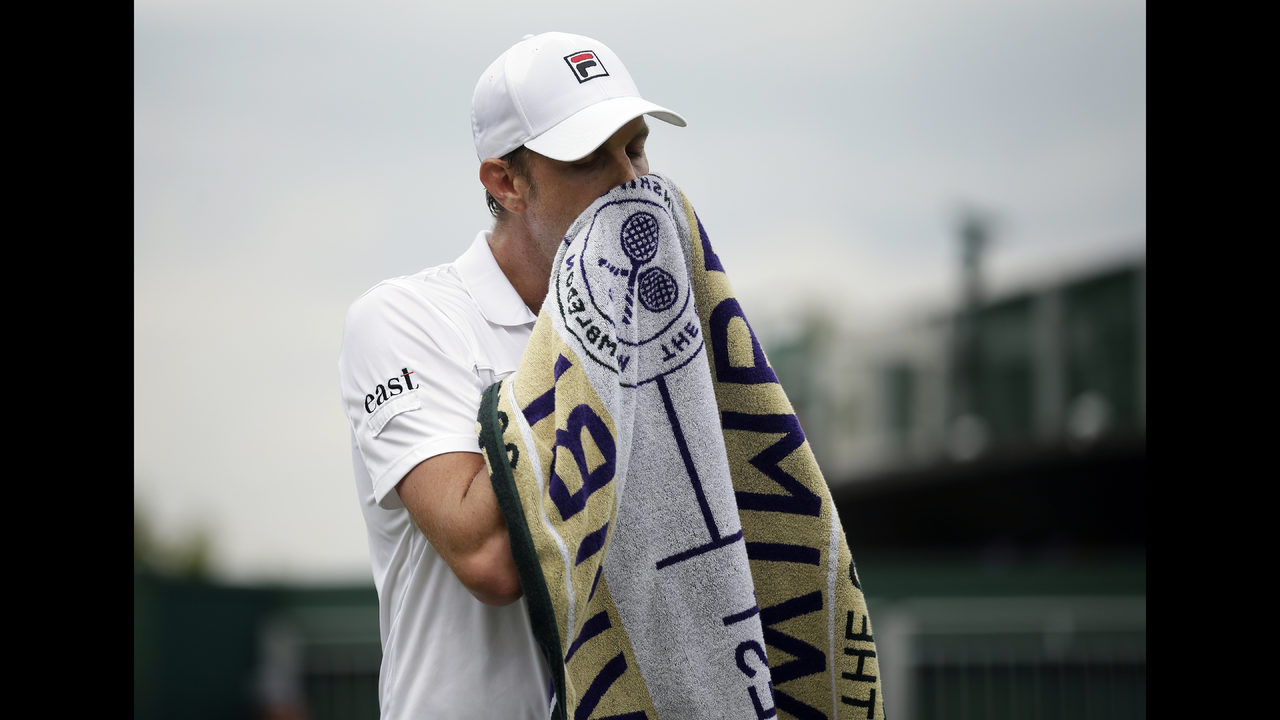 ad87bb2b7a4c3b Querrey's reward for Wimbledon quarterfinal? Facing Nadal | FOX23