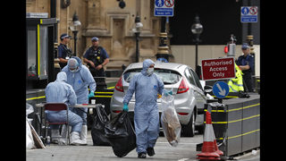 Man who rammed people by UK Parliament guilty of murder bid