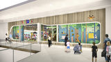 """This undated artist rendering provided by Toys""""R""""Us shows an artist rendering of a new store, which will be about 6,500 square feet - a fraction of the brand's former big box stores, which were about 30,000 square feet. Richard Barry, a former Toys R Us executive and now CEO of the new company called Tru Kids Brands, said the company has entered a partnership with a startup called b8Ta, an experiential retailer to launch what Barry calls an interactive store experience based on a consignment model. Toy makers will pay for space in the stores but will get all the sales. (Courtesy of Toys""""R""""Us via AP)"""