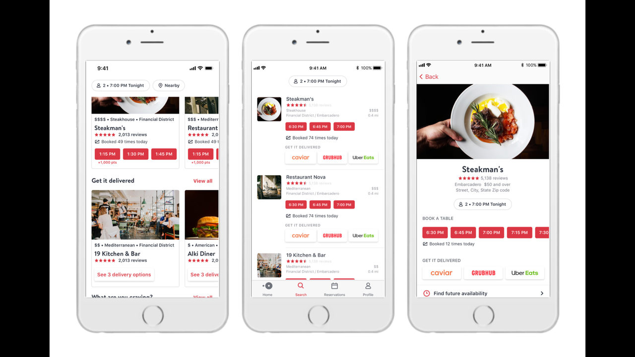 Dining reservation app OpenTable moves into delivery | WFTV