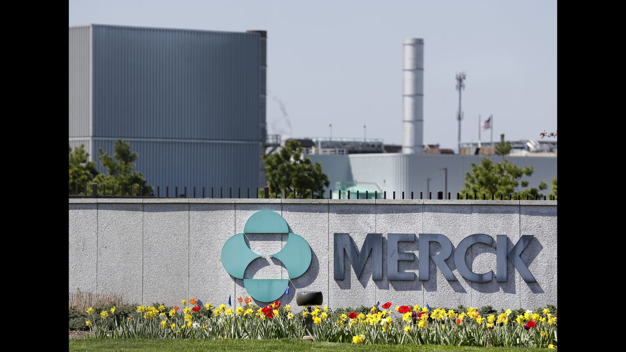 Merck's global sales jump 12%   KIRO-TV