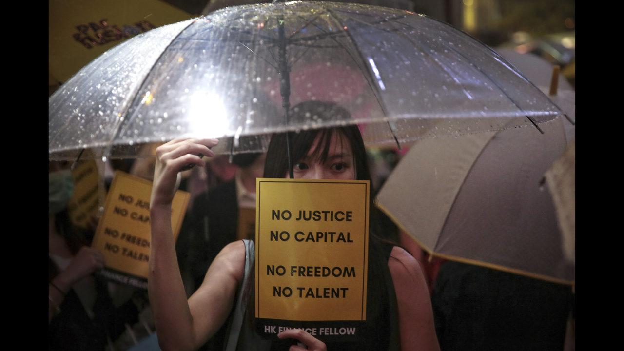Top China envoy: US 'fanning flames' of Hong Kong protests