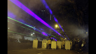 Hong Kong police arrest over 20 protesters in new scuffles | WFTV