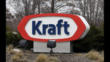FILE - This Wednesday, March 25, 2015, file photo shows the Kraft logo outside of the company's headquarters in Northfield, Ill. Kraft Heinz experienced a mixed second quarter, contending with a hefty impairment charge tied to writing down the value of some of its brands. Kraft Heinz delayed reporting its quarterly earnings as it dealt with restating some financial results. Kraft announced in May 2019 that it would be restating its financial results for the years 2016, 2017, and for the first nine months of 2018. (AP Photo/Nam Y. Huh, File)