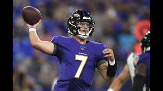 Jackson, Ravens' defense combine for 29-0 win over Jaguars | WFTV