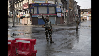 The Latest: Curfew to be eased for prayers in Kashmir | WFTV