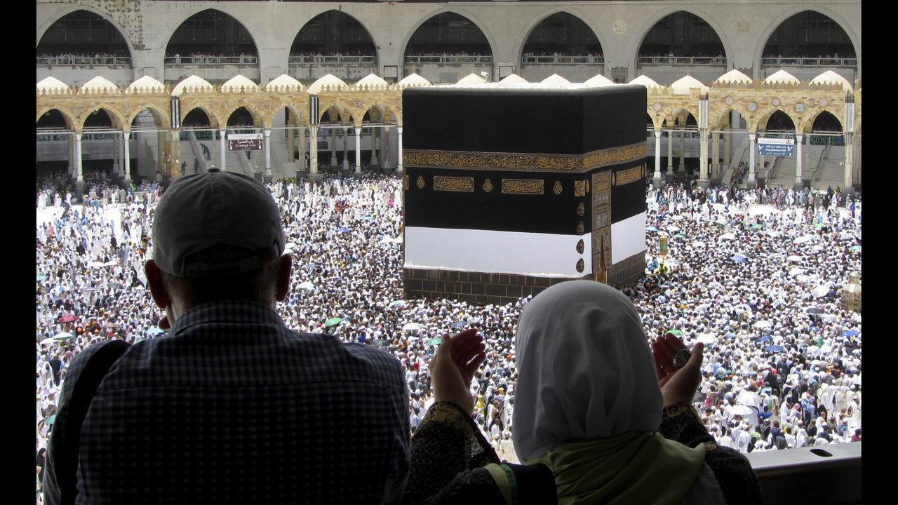 Over 2 million Muslims in Mecca for start of hajj pilgrimage