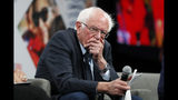 Democratic presidential candidate Sen. Bernie Sanders listens to a question for the audience during the Presidential Gun Sense Forum, Saturday, Aug. 10, 2019, in Des Moines, Iowa. (AP Photo/Charlie Neibergall)