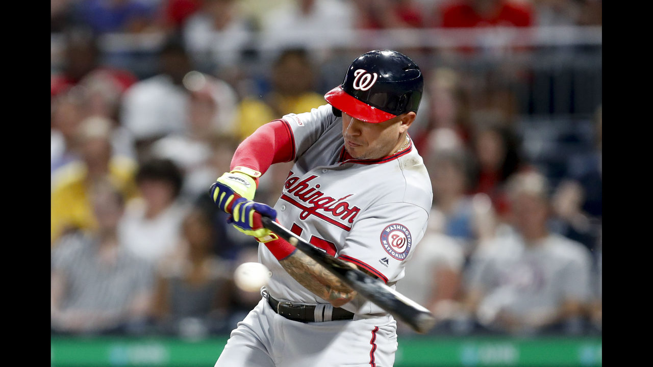 Cabrera, bullpen lead Nationals to 13-0 rout of Pirates