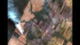 En esta imagen satelital del 15 de agosto de 2019 proporcionada por Imagen satelital © 2019 Maxar Technologies, se muestran incendios en el estado de Rondonia, Brasil, en la cuenca alta del río Amazonas. El Instituto Nacional de Investigación Espacial de Brasil, una agencia federal que monitorea la deforestación y los incendios forestales, dijo que el país ha visto un número récord de incendios forestales este año, un aumento del 84% en comparación con el mismo período del año pasado. (Imagen de satélite © 2019 Maxar Technologies vía AP)