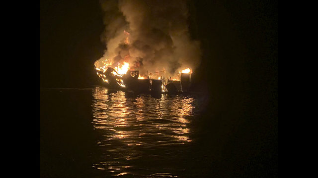 Burning boat takes clues of fatal fire down to watery grave