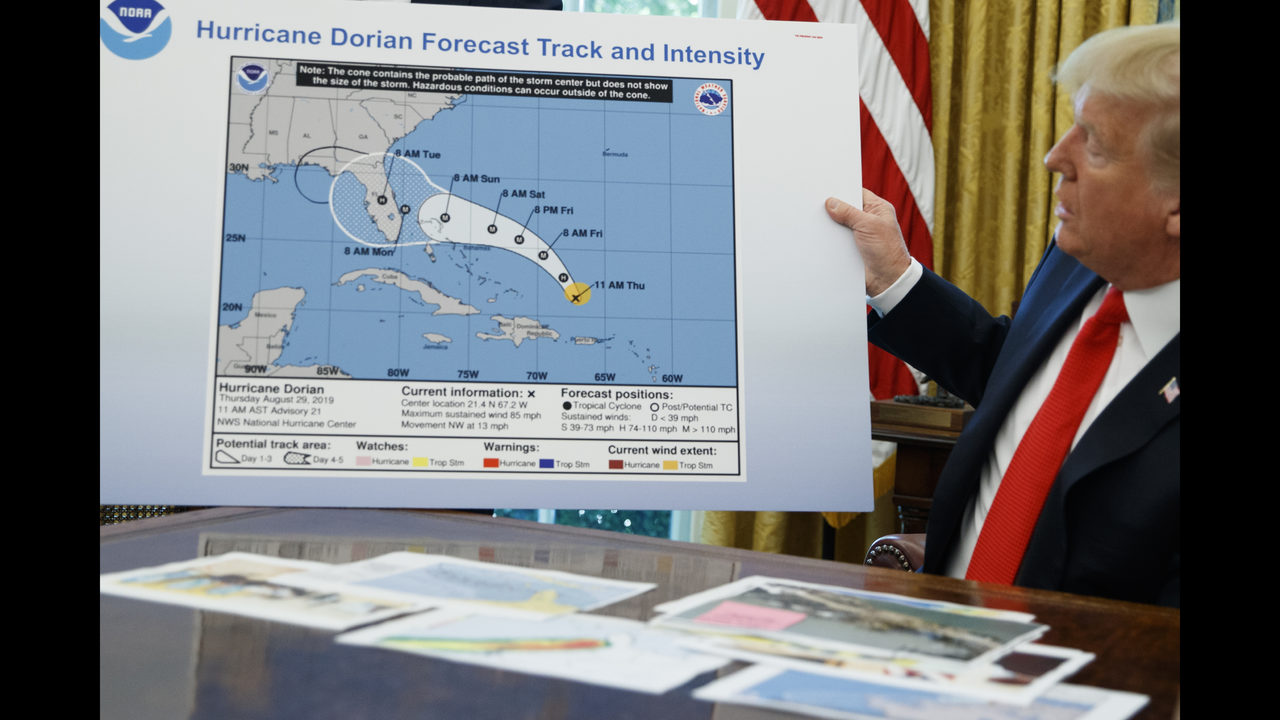 Agency reverses course on Trump's Alabama hurricane claim | WFTV