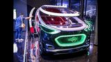 """The Mercedes concept car """"Vision Urbanatic"""" is photographed at the IAA Auto Show in Frankfurt, Germany, Monday, Sept. 9, 2019. The IAA starts with two media days on Tuesday and Wednesday. (AP Photo/Michael Probst)"""
