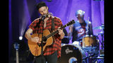 Ruston Kelly performs during the Americana Honors & Awards show Wednesday, Sept. 11, 2019, in Nashville, Tenn. (AP Photo/Wade Payne)