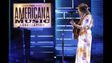 Erin Rae performs during the Americana Honors & Awards show Wednesday, Sept. 11, 2019, in Nashville, Tenn. (AP Photo/Wade Payne)