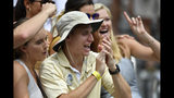 Fans cheer during the first half of an NCAA college football game between Georgia Tech and the Citadel, Saturday, Sept. 14, 2019, in Atlanta. (AP Photo/Mike Stewart)