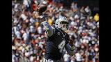 Dallas Cowboys quarterback Dak Prescott (4) passes the ball during the first half of an NFL football game against Washington Redskins, Sunday, Sept. 15, 2019, in Landover, Md. (AP Photo/Evan Vucci)