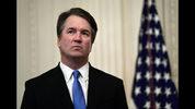 ARCHIVO - En esta fotografía del 8 de octubre de 2018, el magistrado de la Corte Suprema de Estados Unidos, Brett Kavanaugh, está de pie durante un evento en la Casa Blanca, en Washington. (AP Foto/Susan Walsh, Archivo)