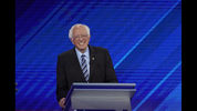 In this Sept. 12, 2019, photo, Democratic presidential candidate Sen. Bernie Sanders, I-Vt., answers a question during a Democratic presidential primary debate hosted by ABC at Texas Southern University in Houston. Sanders successfully turned his outsider credentials and call for political revolution into a commanding victory in the 2016 New Hampshire primary. But as he seeks a repeat performance, the Vermont senator could face unlikely competition. (AP Photo/David J. Phillip)