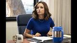 """En esta imagen difundida por HBO, Julia Louis-Dreyfus en una escena de """"Veep"""". (HBO vía AP)"""