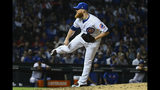 Chicago Cubs relief pitcher Craig Kimberly delivers during the tenth inning of a baseball game against the St. Louis Cardinals, Thursday, Sept. 19, 2019, in Chicago. (AP Photo/Matt Marton)