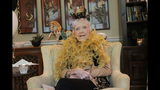 Tess Gay celebrates her 100th birthday in Marietta, Ga., on Saturday, Sept. 14, 2019. (Ross Williams/The Marietta Daily Journal via AP)